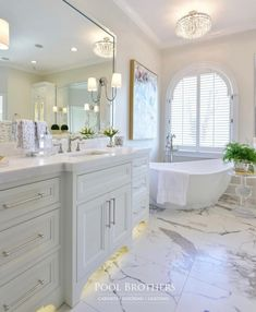 me 143 totally inspiring master bathroom designs ideas 23 ~ mantulgan. Master Bathroom Vanity, Luxury Master Bathrooms, Modern Master Bathroom, Small Bathroom, Bathroom Ideas, Bathroom Beadboard, Condo Bathroom, Bathroom Goals, Bathroom Design Layout