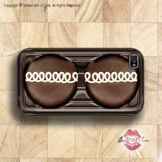 Chocolate Cupcake - iPhone 4 Case, iPhone 4s Case and iPhone 5 case via Etsy
