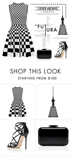"""""""Check Mate"""" by conch-lady ❤ liked on Polyvore featuring Ted Baker, Giclee Gallery, Dolce&Gabbana, Lulu Guinness and blackandwhite"""