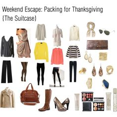 Thanksgiving Weekend Suitcase
