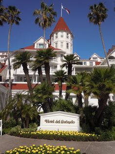Hotel Del - Coronado, CA   Hotel Del Coronado: Located on 28 oceanfront acres and offering 65,000 sq ft of event space, the Hotel del Coronado is San Diego's premier meeting resort. With Victorian elegance.