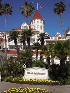 Hotel Del - Coronado, CA   Hotel Del Coronado: Located on 28 oceanfront acres and offering 65,000 sq ft of event space, the Hotel del Coronado is San Diego's premier meeting resort. With Victorian elegance.
