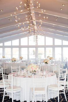 Classic Wedding on Cape Cod, Reception Space | Brides.com
