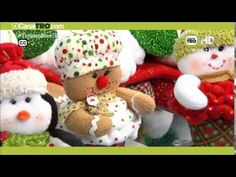 Manualidad: Forro de silla Papá Noel - YouTube