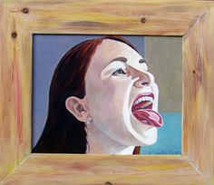 "Saatchi Online Artist Andrejs Bovtovičs; Painting, ""Miss Rollingstone"" #art"