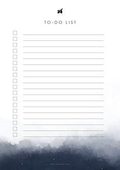 To Do Lists Printable, Weekly Planner Printable, Planner Template, Monthly Planner, Free Printable, Monthly Goal, Calendar 2019 Printable, Schedule Templates, Printable Stickers