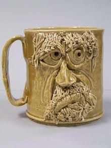 Face Mug 124 by GTCArtwork on Etsy, $23.00