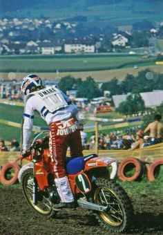 Johnny O, Gaildorf Germany. 1982 motocross des nations.