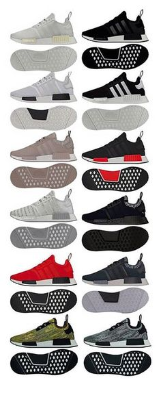 These are all the upcoming 2016 releases for the Adidas Originals NMD!  http://ift.tt/1PB880A