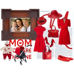 two generation moms, created by cristina1207 on Polyvore