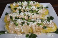 Chipotle Corn on the Cob Mexican Corn, Great Restaurants, Cob, Chipotle, Eating Well, Food Food, Cravings, Appetizers, Menu