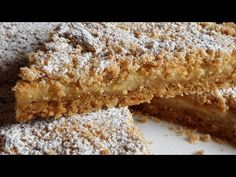 Juste quelques minutes et vous ferez un gâteau qui fond dans la bouche # 281 - YouTube My Recipes, Cake Recipes, Cooking Recipes, Greek Sweets, Melt In Your Mouth, Party Desserts, Sweet Cakes, How To Make Cake, Smoothie Recipes