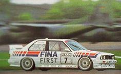 BMW M3 E30 DTM 1992 FINA C. Cecotto #7