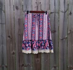 S M Small Medium Vintage 70s You Babes by PinkCheetahVintage