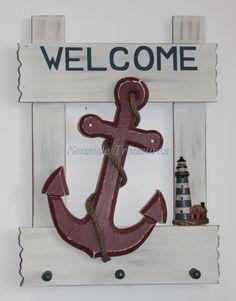 Nautical Decor, Nautical Gifts - Home Accents Decor, Beach Decor, Coastal Decor $40.