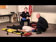 Patient assessment- trauma Where has this been my whole class? what a handy video for studying! Firefighter Training, Firefighter Paramedic, Emergency Medical Technician, Emergency Medical Services, Lpn Schools, Ems Humor, Medical Dental, Paramedics, National Health