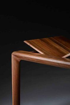 Artisan - Tisch Invito Custom Made Furniture, Solid Wood Furniture, Furniture Making, Furniture Design, Extension Table, Sideboard, Interior Decorating, Artisan, Shelves