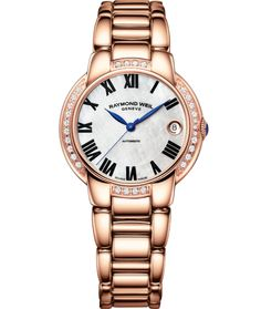 RAYMOND WEIL Jasmine 2935-P5S-01970  - 35mm Rose gold PVD plated stainless steel automatic 29 diamonds #RaymondWeil #WatchConnection #Watches #Professional #Ican #DailyWatch #WatchOfTheDay #Inspiration #classy #wristwatch #RealSmartWatch #PhotoOfTheDay #Love #instagood #me #luxury #success #WomenWithStyle #WatchPorn #WoMensFashion #WoMensWatch #CostaMesa #OrangeCountyCa