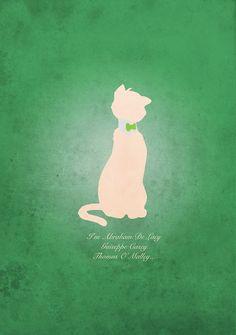 Aristocats inspired design (Thomas O'Mally).