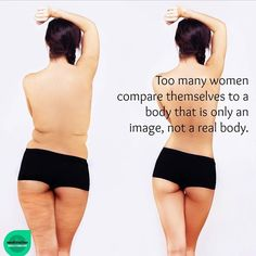 """""""The reason we are sold manipulated images is to drive our consumption of products. Think about this. If you saw images of real bodies of various shapes…"""" Real Bodies, One Piece, Skinny, Facebook, Type 1, Healthy, Positivity, Shapes, Instagram"""