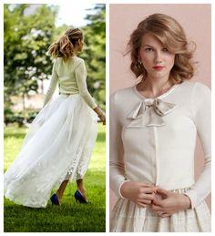 El jersey de novia es la tendencia del año #brides