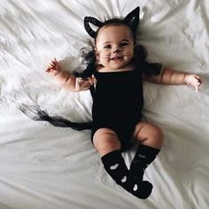 infant halloween costume #CatWoman