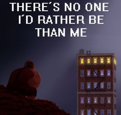 A little Wreck-It Ralph for your Wednesday...