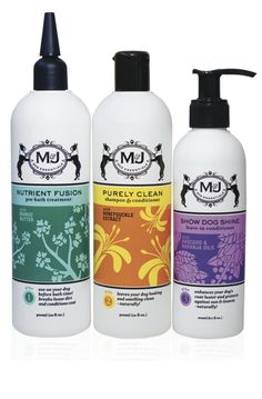 Be sure to use only pH balanced and holistic products on your dog's coat and skin.  M products are based on functionality and not scent alone, which helps avoid any allergic reactions your dog might experience  http://mjdog.com/shop