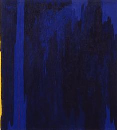 When I had a composition problem on this underpainting of a hailstorm, I looked at the color field painter Clyfford Still.  http://watchmepaint.blogspot.com/2014/02/abstract-expressionism-bails-me-out.html