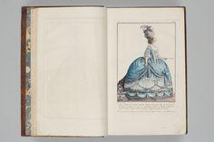Comtesse d'Artois en robe de cour | Gallerie des Modes | Bunka Gakuen Library Doll Costume, Costume Dress, Costumes, Court Dresses, Digital Archives, 18th Century Fashion, Pink Gowns, Fashion Plates, French Fashion