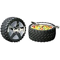 Tire Snack Bowl With Hubcap Lid - Nascar Fan Motorhead Car Enthusiast Wheel by Wrenchware Tire Snack Bowl With Hubcap Lid - Nascar Fan Motorhead Car Enthusiast Wheel Black Race Car Birthday, Cars Birthday Parties, Birthday Ideas, Third Birthday, 70th Birthday, Birthday Cards, Husband Fathers Day Gifts, Car Lover Gifts, Mechanic Gifts