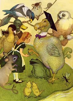 Alice in Wonderland, illustrated by Marjorie Torrey