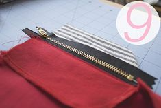 sallieoh: tutorial: fun with clovers - part three sew fly front