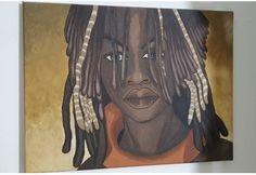 30x40cm acrylic portrait Wall Design, Artwork Design, Acrylic Art, Diy Wall Decor, African Art, Art Day, Art Gallery, Portrait, Handmade Art