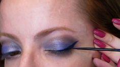 Julia Petit Passo a Passo Azul e rosa Maquiagem http://juliapetit.com.br/tv-petiscos/manual-azul-e-rosa/