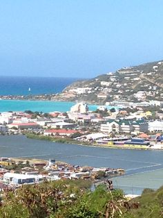 overlooking Phillipsburg, St. Maarten