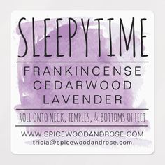 Essential Oils For Headaches, Essential Oils For Sleep, Doterra Essential Oils, Essential Oil Scents, Sleeping Essential Oil Blends, Essential Oil Diffuser Blends, Essential Oil Combinations, Waterproof Labels, Young Living