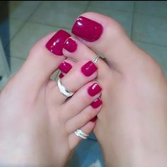 Pin on Sexy feet Pin on Sexy feet Pretty Toe Nails, Cute Toe Nails, Sexy Nails, Sexy Toes, Pretty Toes, Love Nails, Pink Nails, How To Do Nails, Red Toenails