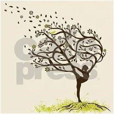 New life tree tattoo woman awesome 37 Ideas Yoga Tattoos, Body Art Tattoos, Dance Tattoos, Tattoo Life, Tatouage Yogi, Yoga Kunst, Inspiration Art, Symbolic Tattoos, Tree Art