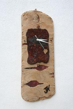 Driftwood Clock, Driftwood Wall Clock, Drift Wood Clock, Beach finds Clock. £65.00