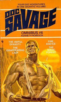 Doc Savage, Bantam Paperback