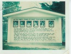 For 40 years, near Fayetteville, WV, you could see a sign with images of 5 children, names and ages, along with speculation about what happened to them. Fayetteville is a small town; rumors played a larger role in the case than evidence. What they knew for certain was this: Christmas Eve 1945, George & Jennie Sodder & 9 of 10 children went to sleep (1 son in the Army). Around 1 a.m., a fire broke out. George and Jennie and 4 of their children escaped, but the other 5 were never seen again
