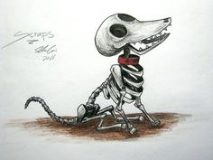 corpse bride scraps the dog | Scraps (corpse bride) by 88reset