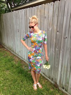 "LuLaRoe Julia Dress!  Shop on Facebook: ""Kristen's LuLaRoe Boutique"""