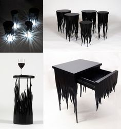 Squiddy furniture by Judson Beaumont