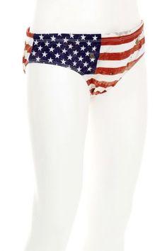 Dsquared2 American flag bathing suit (art. SG0088 S22031 002)