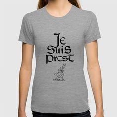 Je Suis Prest Shirt - $22 ⋆ Gifts for Outlander Fans!