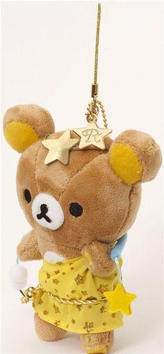 Rilakkuma bear zodiac sign Libra plush charm