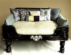 Luxury Designer Black Elegance Dog Bed