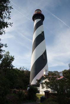 St. Augustine Lighthouse, St. Augustine FL.